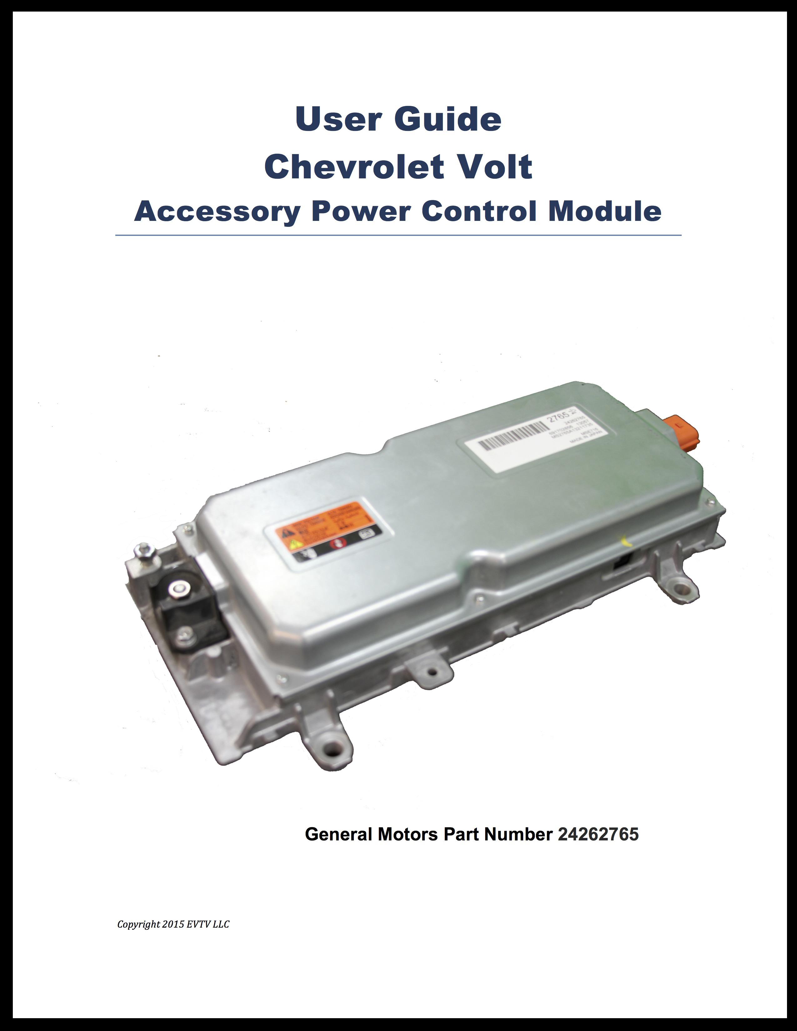 Volt APM User Manual
